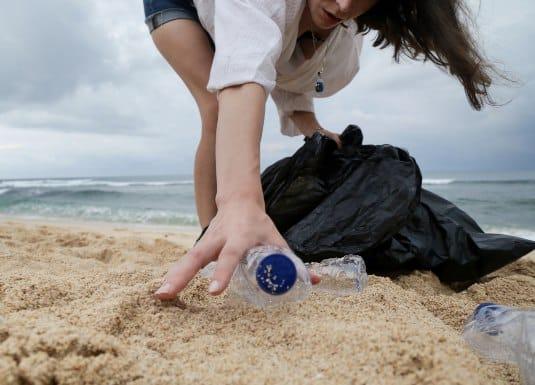 basura en playas