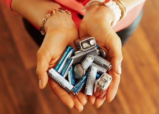 reciclaje de pilas en Chile